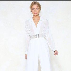 BNWT Stunning White Jumpsuit